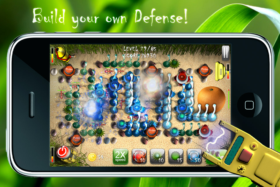 Screenshot Antroad Defense for iPhone
